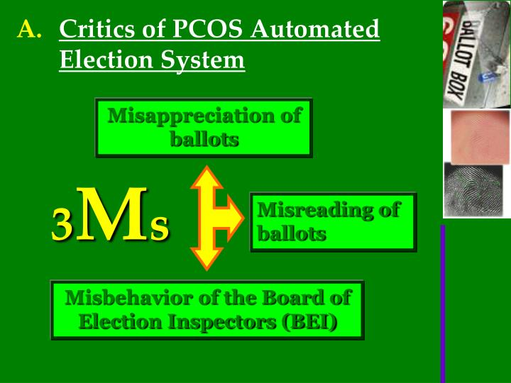 automated election system thesis