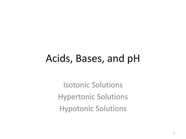 acids bases and ph n.