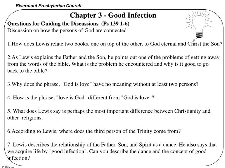 Chapter 3 - Good Infection