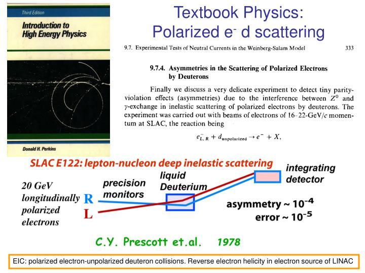 Textbook Physics: