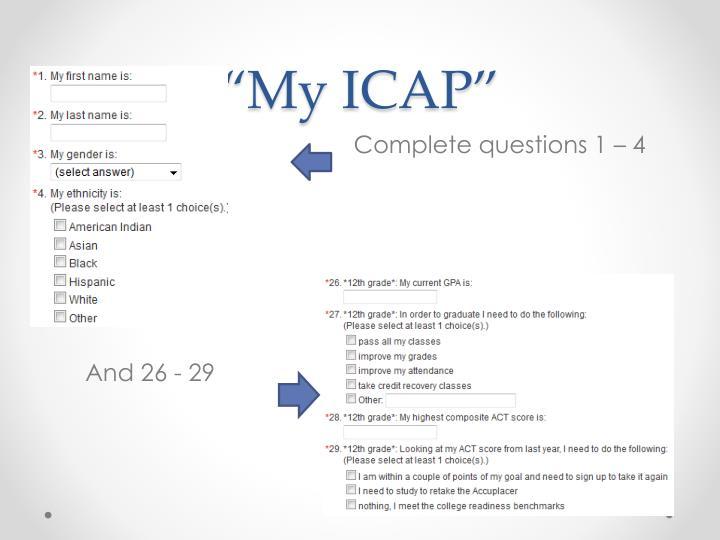 """My ICAP"""