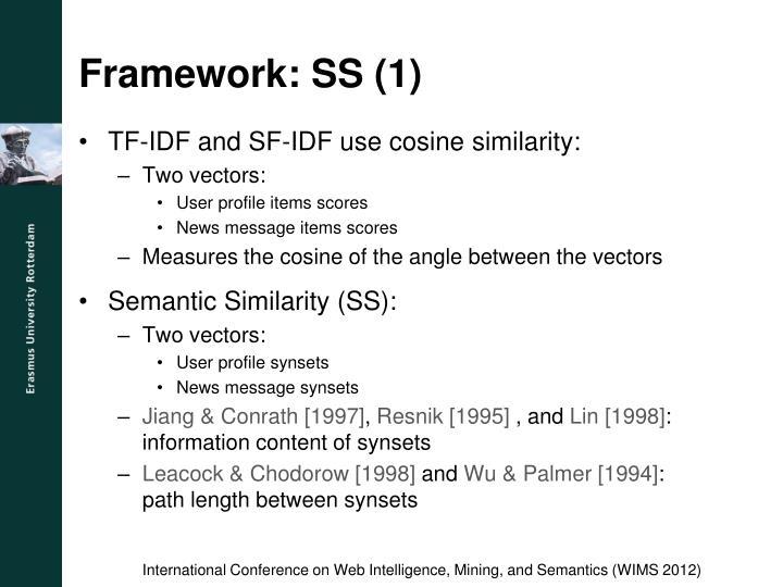 Framework: SS (1)