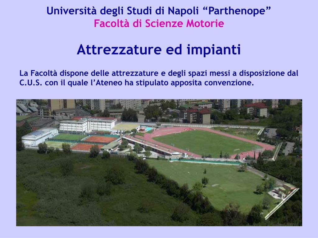 PPT - Facoltà di Scienze Motorie PowerPoint Presentation ...