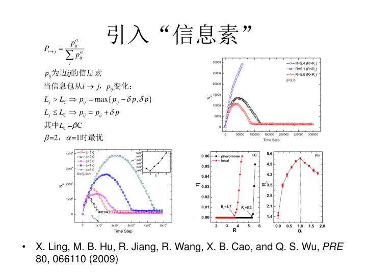 X. Ling, M. B. Hu, R. Jiang, R. Wang, X. B. Cao, and Q. S. Wu,