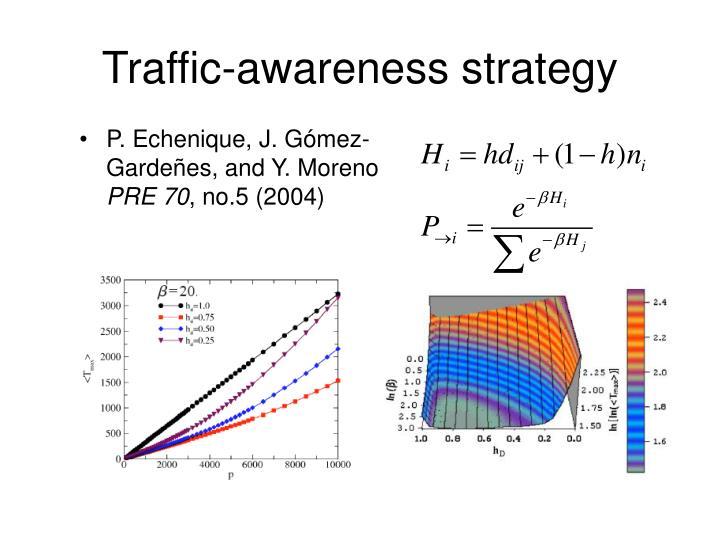 Traffic-awareness strategy