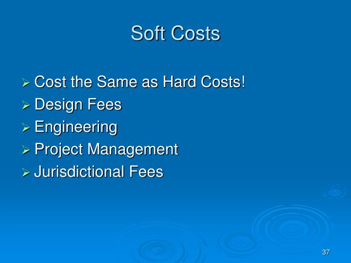 Soft Costs