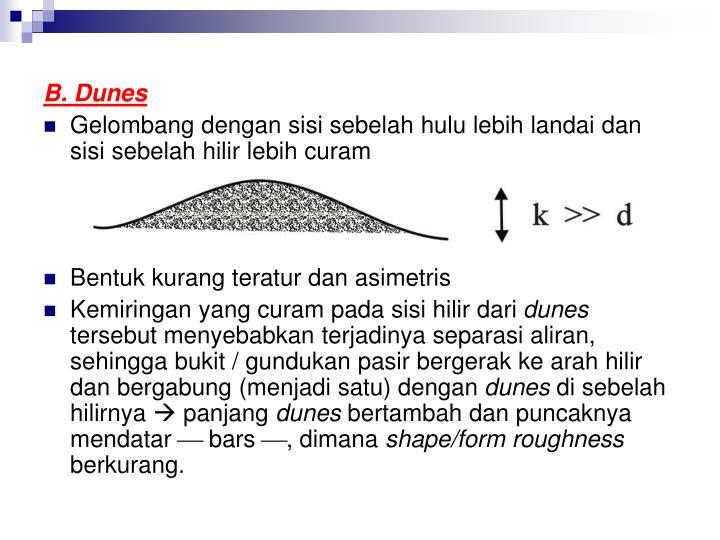 B. Dunes
