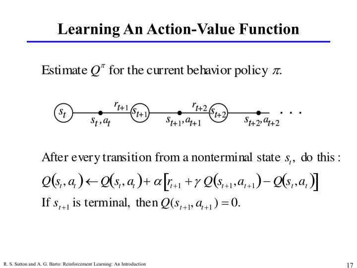Learning An Action-Value Function