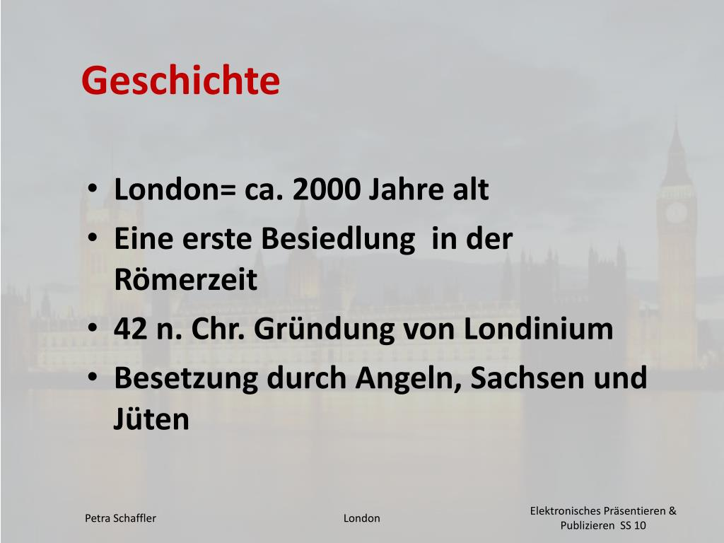 Ppt London Powerpoint Presentation Free Download Id 5499494