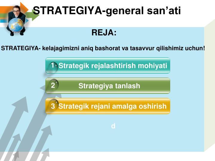 Strategiya general san ati