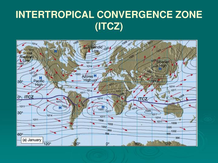 INTERTROPICAL CONVERGENCE ZONE (ITCZ)