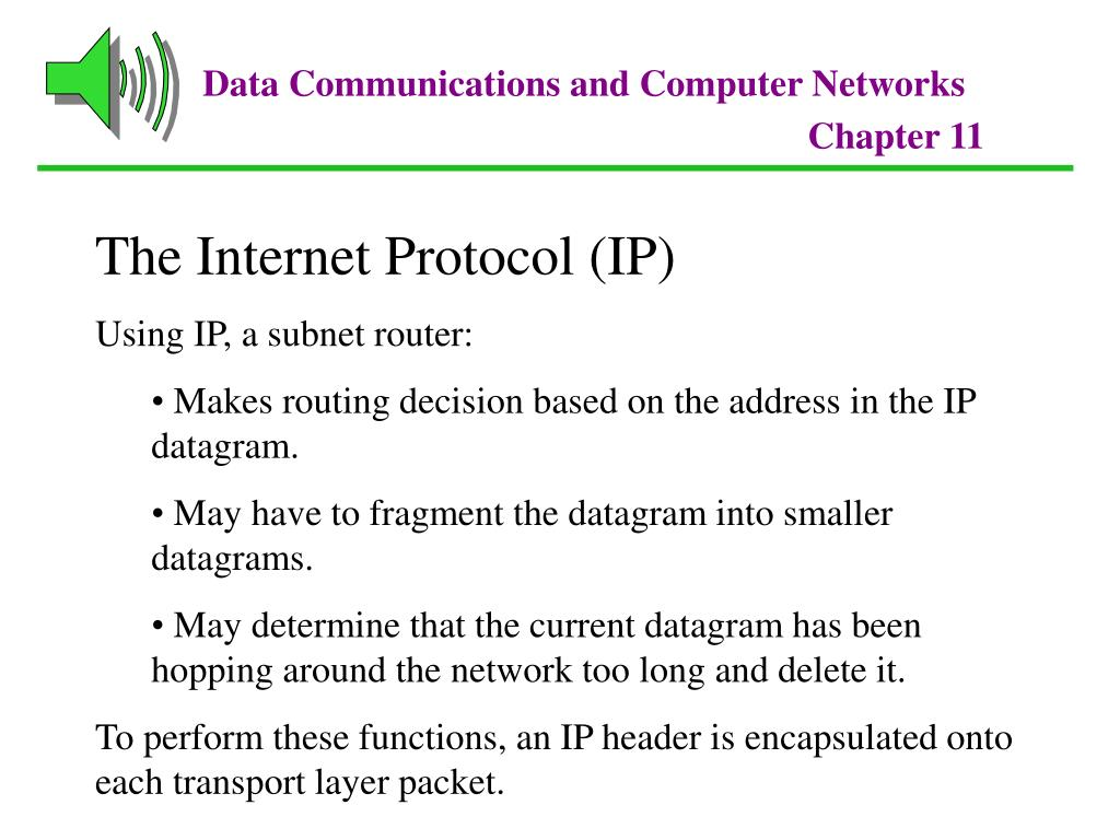 PPT - Chapter 11 The Internet PowerPoint Presentation - ID