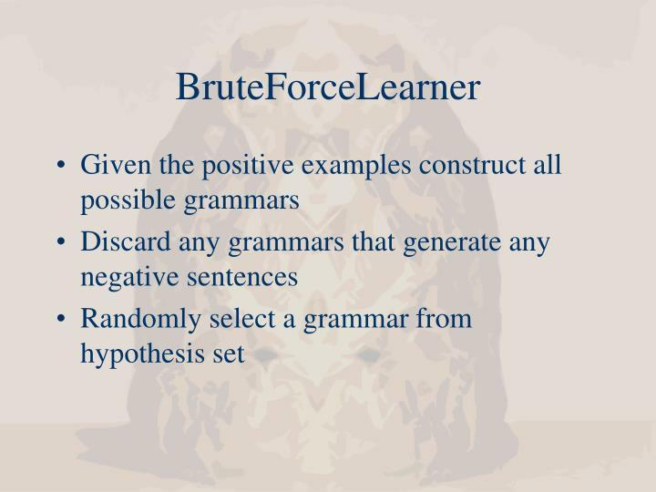 BruteForceLearner