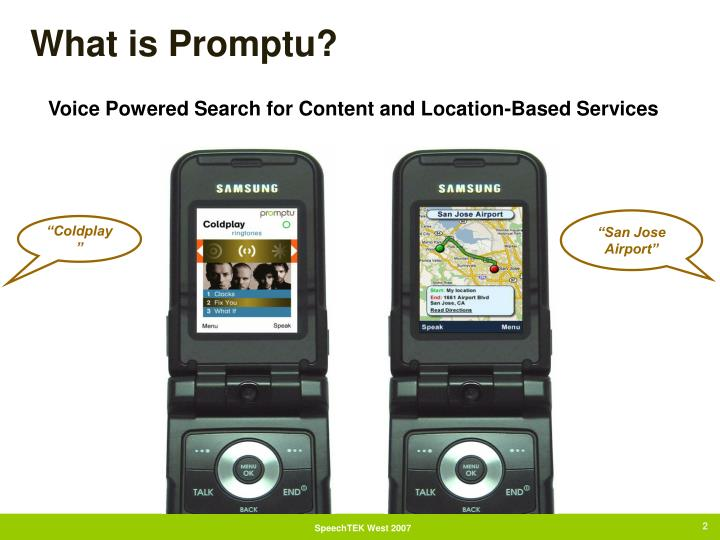 What is promptu