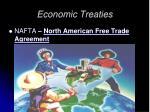 economic treaties