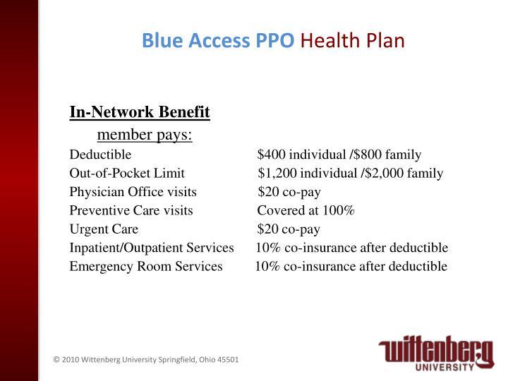 Blue Access PPO