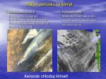 wp yw aerozolu na klimat