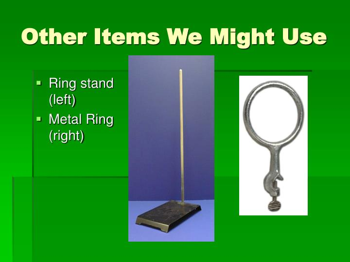 Other Items We Might Use