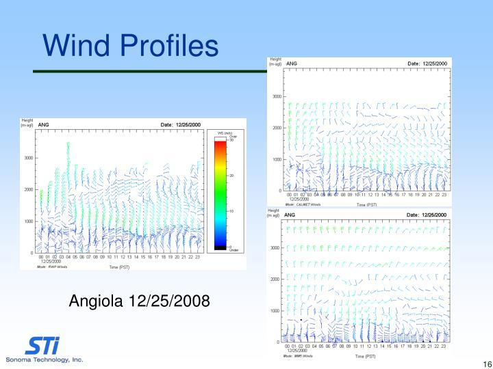 Wind Profiles