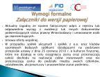 wymogi formalne za czniki do wersji papierowej
