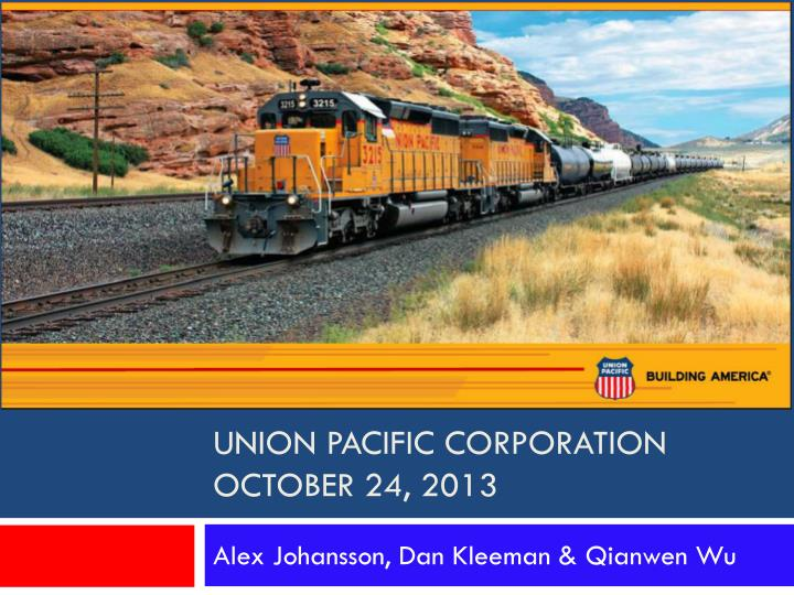 union pacific corporation october 24 2013 n.
