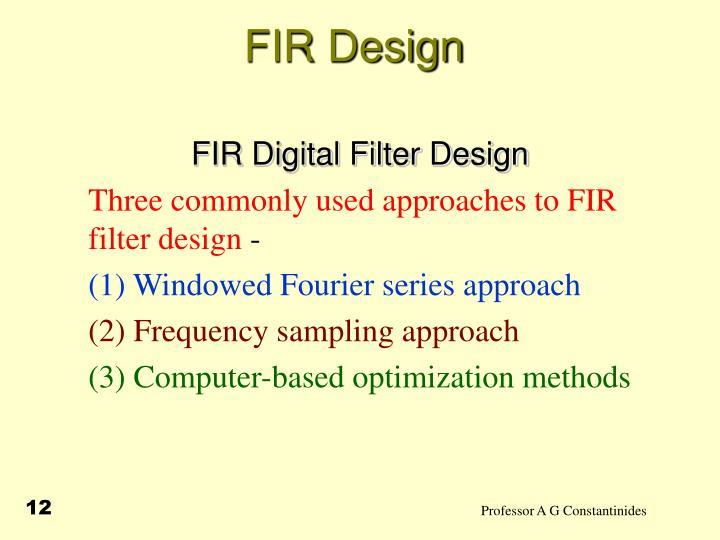 FIR Design