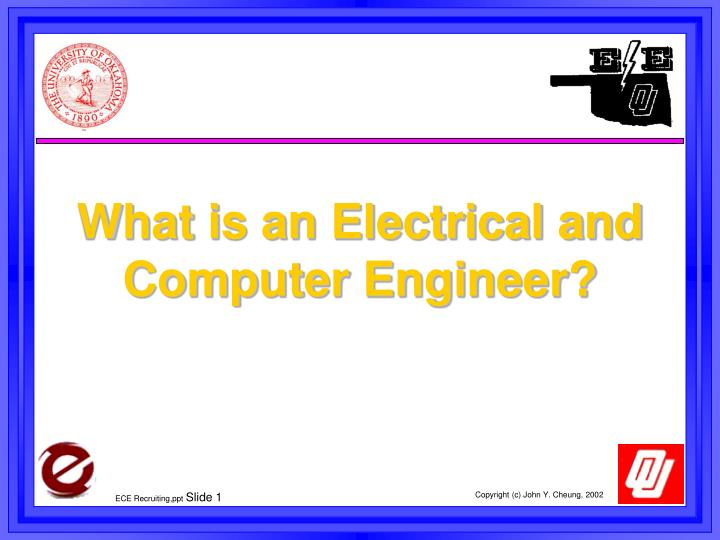 what is an electrical and computer engineer n.
