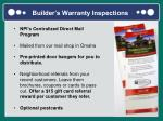 builder s warranty inspections1