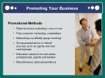 promoting your business1