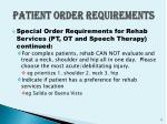 patient order requirements6