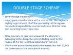 double stage scheme1