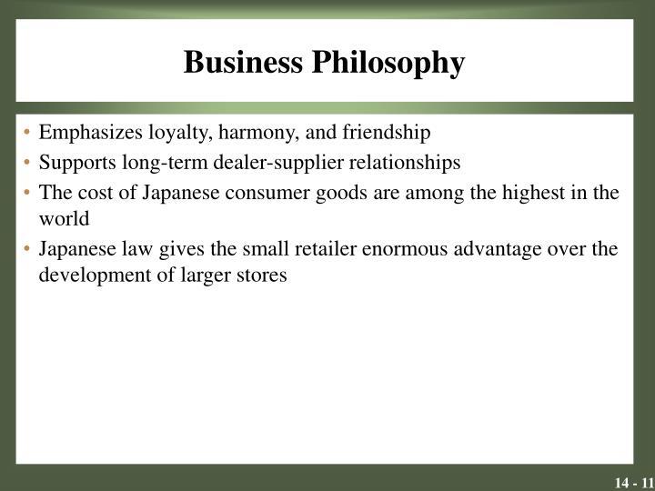 Business Philosophy