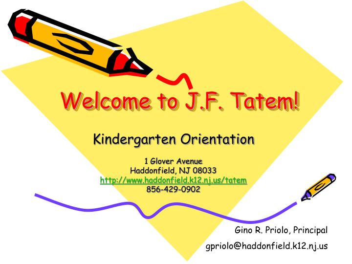 Welcome to J.F. Tatem!