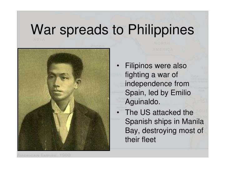War spreads to Philippines