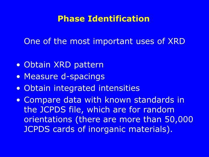 Phase Identification