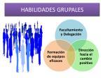 habilidades grupales