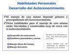 habilidades personales desarrollo del autoconocimiento2