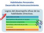 habilidades personales desarrollo del autoconocimiento7