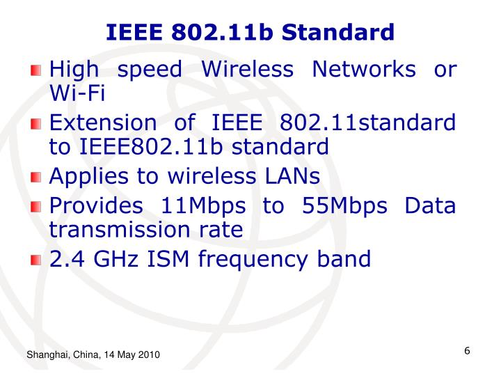 IEEE 802.11b Standard