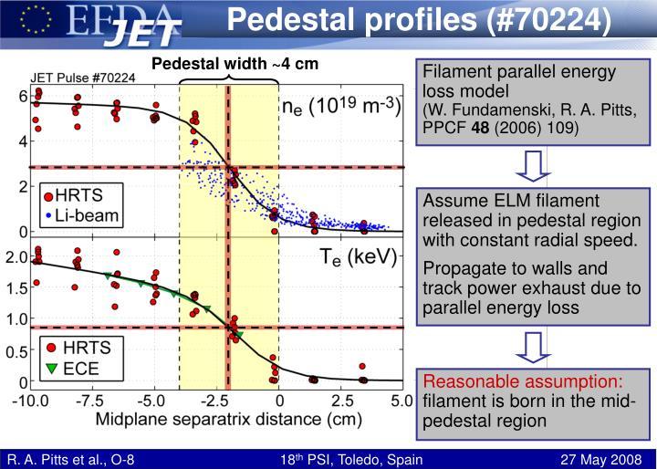Pedestal profiles (#70224)