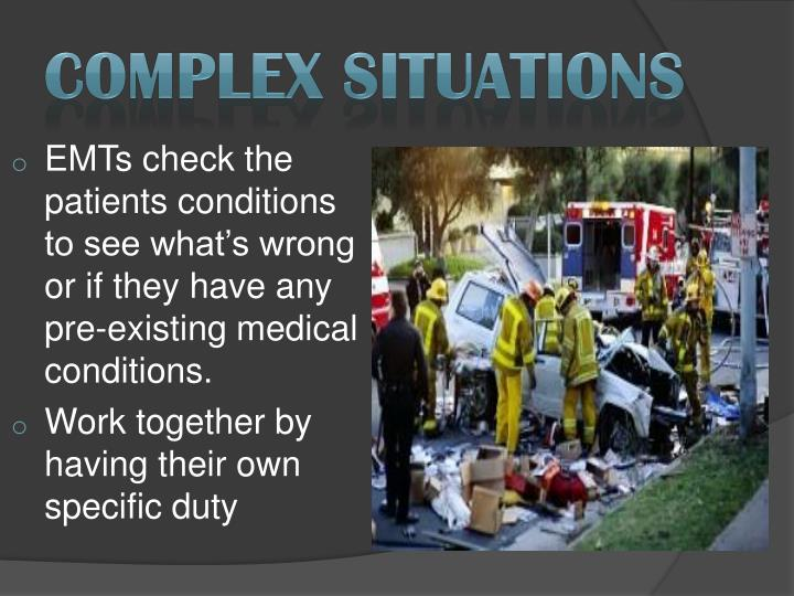 Complex Situations