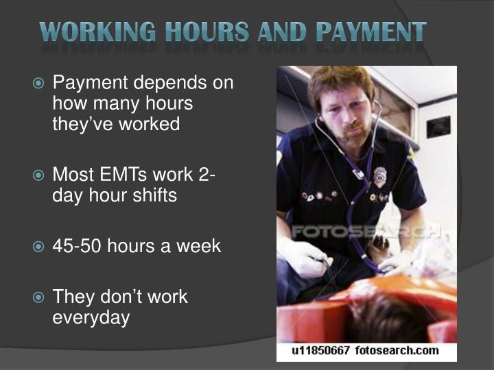 Working Hours and Payment