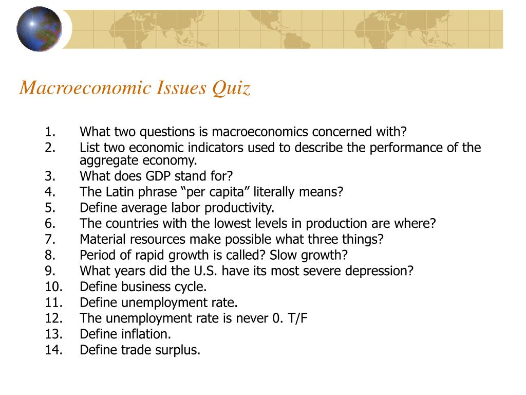 PPT - Macroeconomics PowerPoint Presentation - ID:5503158