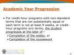 academic year progression2