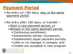 payment period3