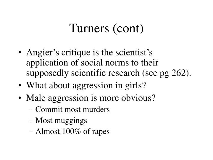 Turners (cont)