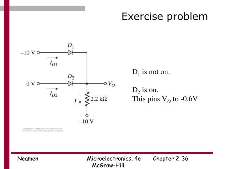 Exercise problem