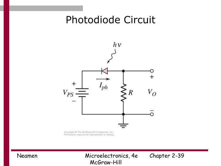 Photodiode Circuit