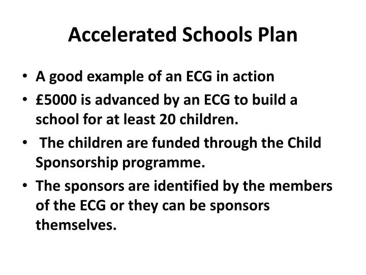 Accelerated Schools Plan