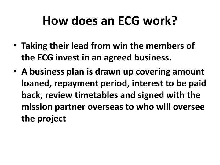 How does an ECG work?